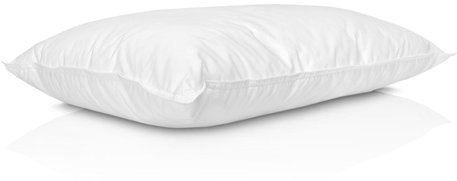 Cuscino 80% Piumino d'Oca (cotone biologico) Extra Soft